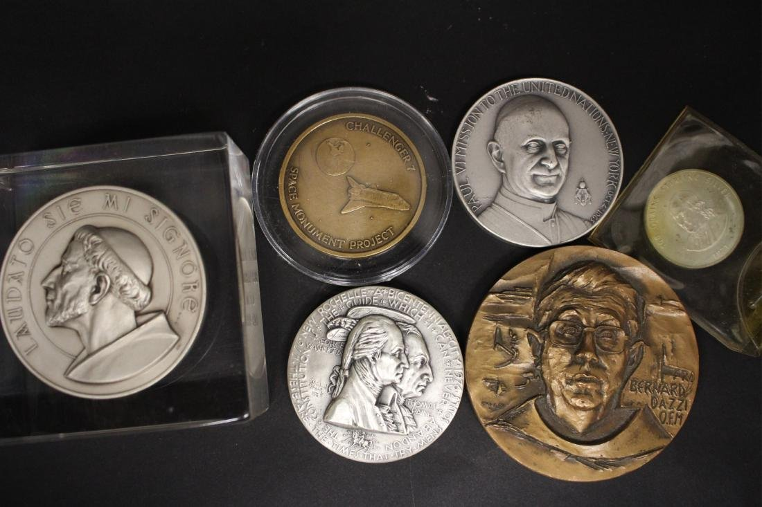 Five Medals and a Sterling Coin - 2