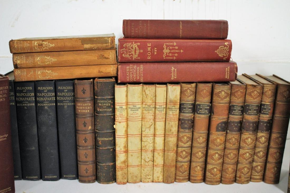Antique Books of Poetic Works - 2