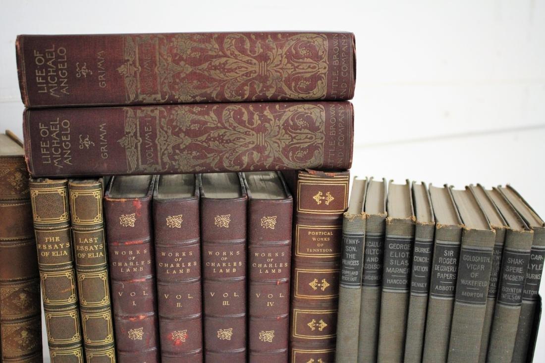 Antique Books of Poetic Works - 3