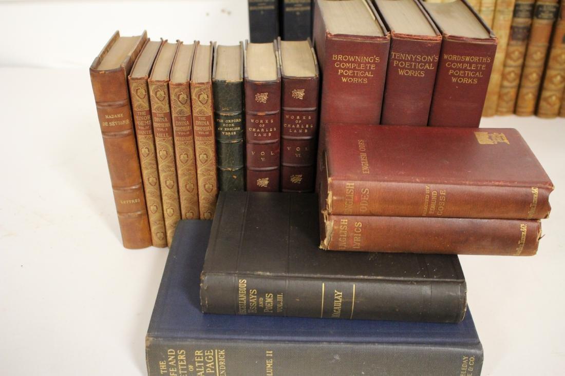 Antique Books of Poetic Works - 4