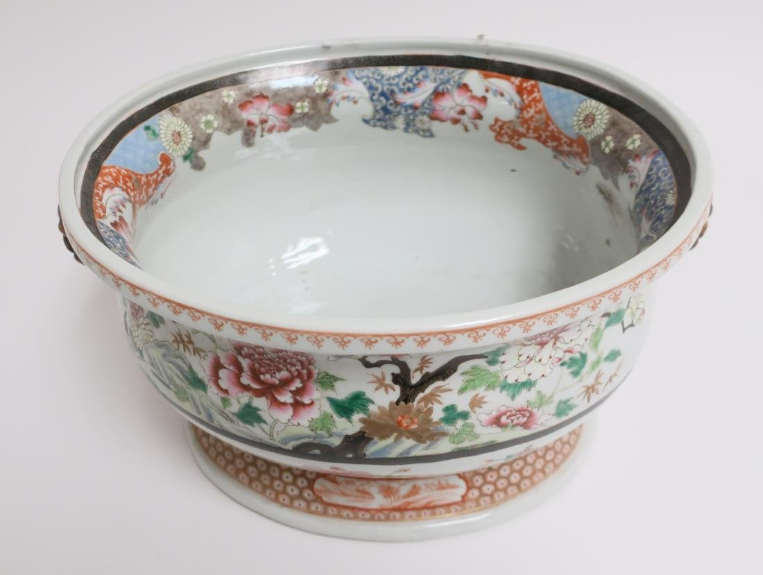 Chinese Export Style Porcelain Basin - 2