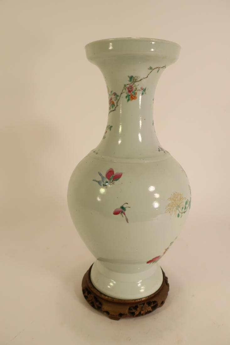 Chinese Baluster Form Vase, Republic Period - 2