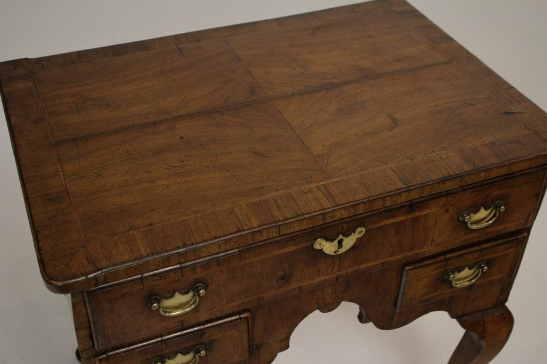 George I Walnut Lowboy, Early 18th C. - 2
