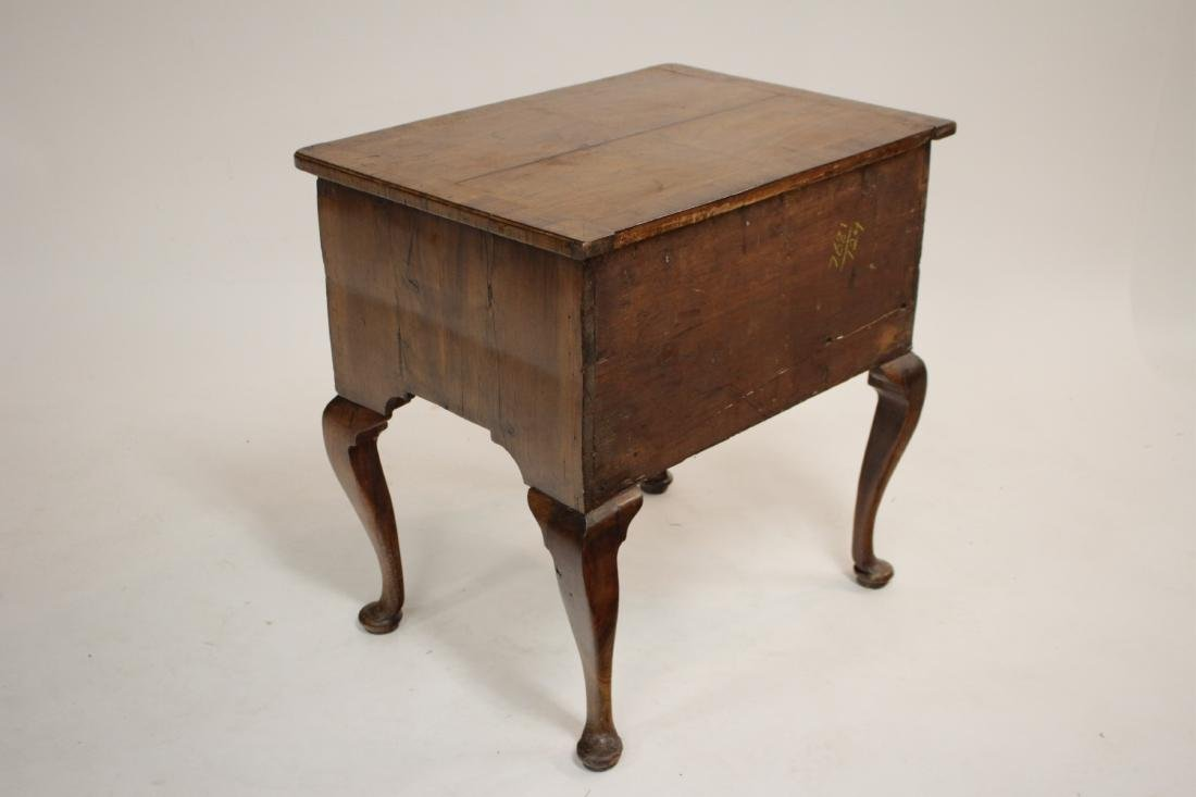 George I Walnut Lowboy, Early 18th C. - 5