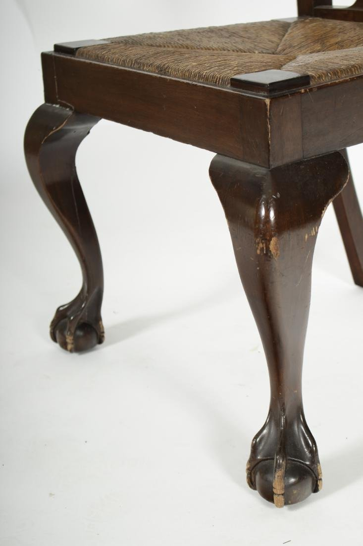 Pair of Mahogany Chippendale Style Side Chairs - 3