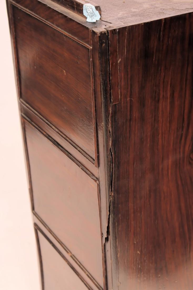 19th C. Rosewood Pedestal Desk - 6