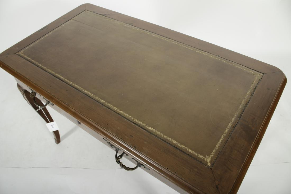 19th C. French Provincial Walnut Writing Desk - 3