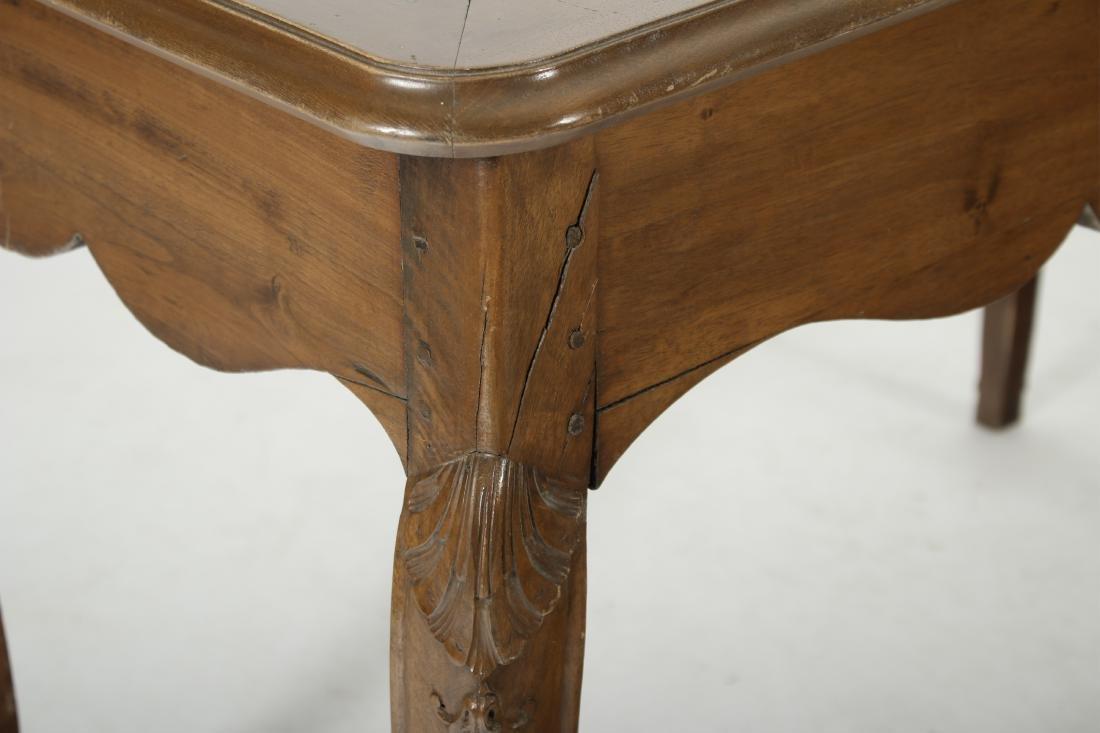 19th C. French Provincial Walnut Writing Desk - 6