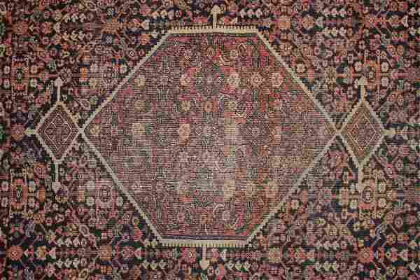 Persian Hand Knotted Wool Rug 4-2' x 6'-2'
