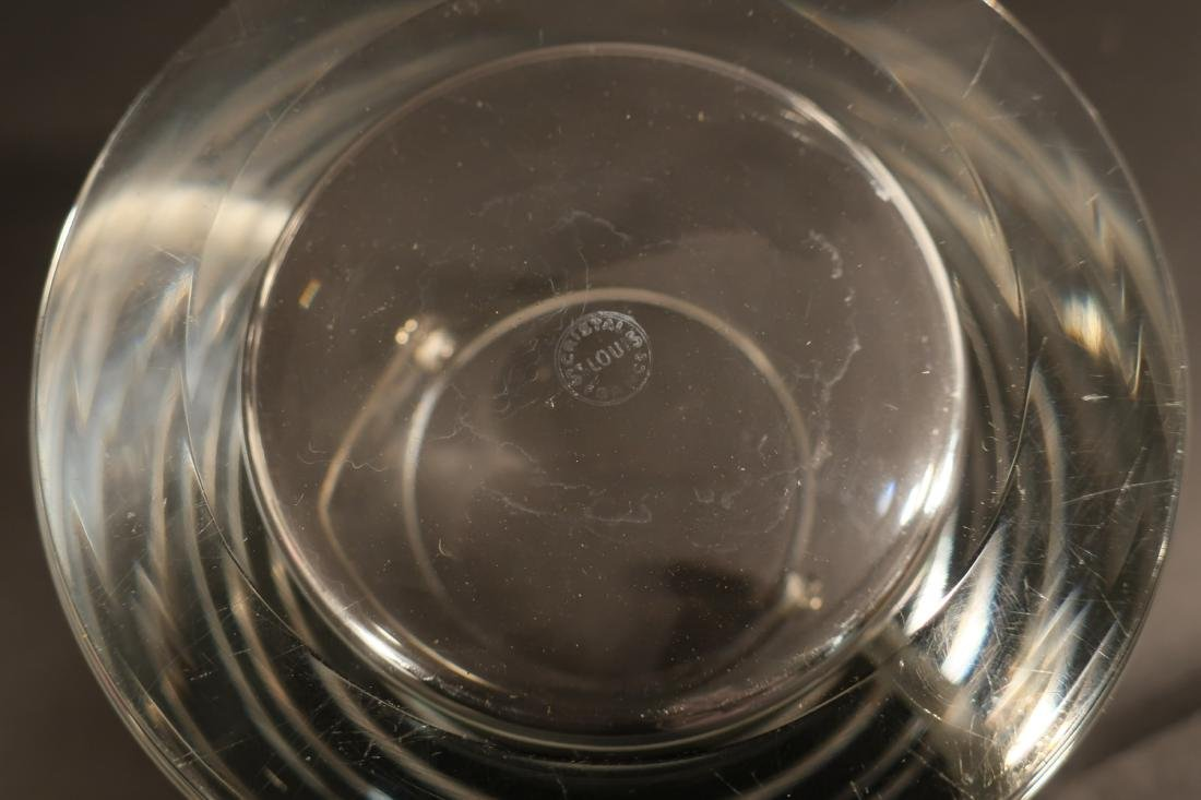 St Louis & Baccarat French Crystal Barware - 4