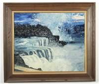 """Sevim Eker, """"Niagra Falls"""" O/C"""
