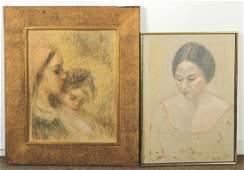 Sevim Eker, Two Portraits