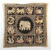 South East Asian Zodiac Tapestry