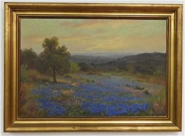 Porfirio Salinas 1910-73 Texas Bluebonnets O/C