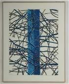 "Alan Turner, ""Pine Cut Down I"" Lithograph"