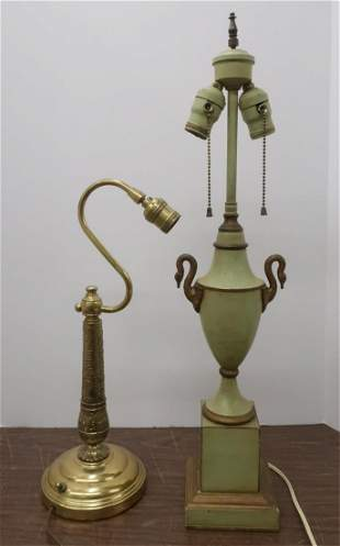 2 Table Lamps. K. Bessart & W. Kessler