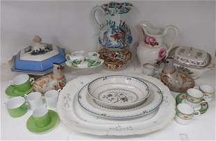 Group Assorted Porcelain & Ironstone