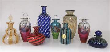 Modern Art Glass Forms: Perfumes, Small Vases