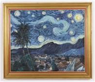 Carlos Hidalgo, After Starry Night O/C, 1992