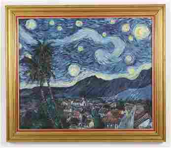 Carlos Hidalgo, After Starry Night O/C, 1992