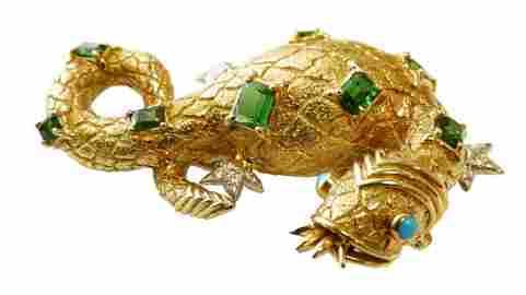 Schlumberger for Tiffany & Co - Salamander Brooch