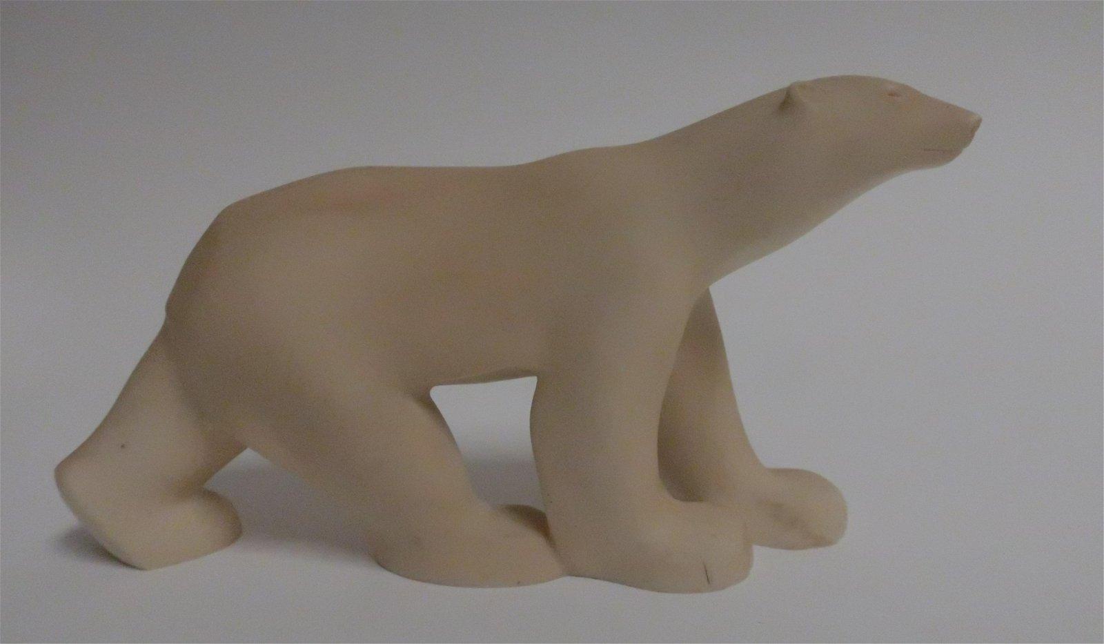 Polar Bear Cast Sculpture, MMA C1984