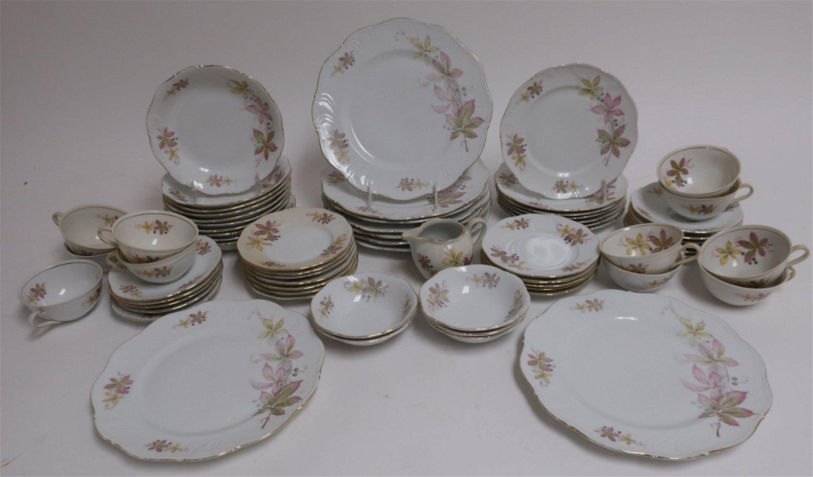 55 Pc. Winterling Marktleuthen Partial Set for 12
