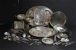 Mixed Group of Silver Plate Items