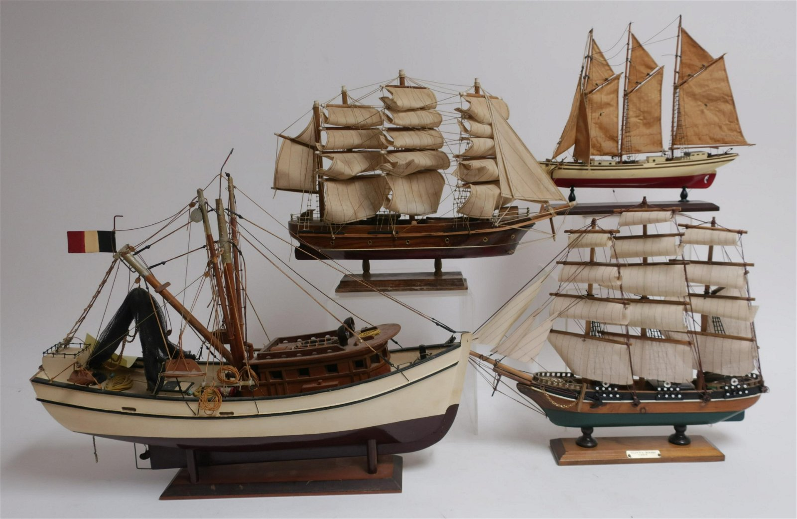 Ship Models: Tall Masted, Trawler