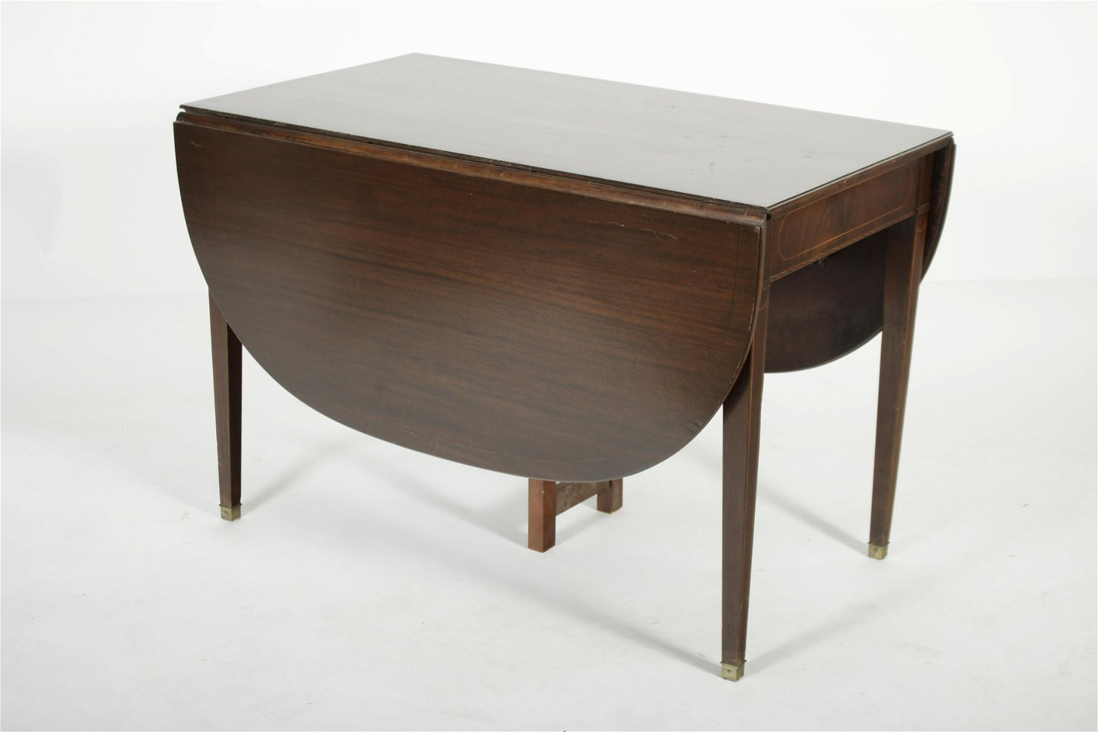 Federal Style Drop Leaf Dining Table, c.1940