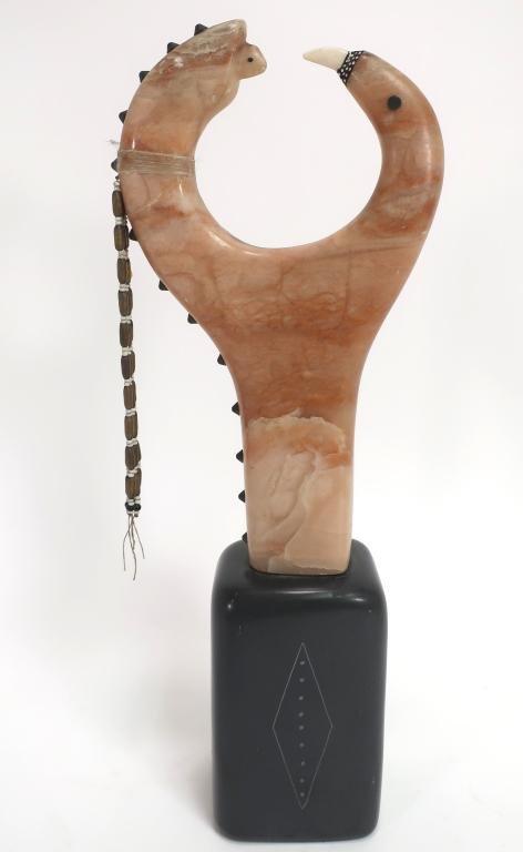 "Southwest Stone Sculpture ""Newborn Reborn Fetish"""