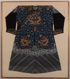 Chinese Imperial Dragon Robe, Qing 18th c.