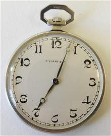 Patek Philippe Platinum Pocket Watch