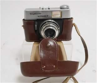 Voigtlander Vitoret 35 mm Camera 2.8/50 Lens