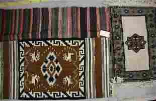 3 Pcs Moroccan Berber A Poncho Mat