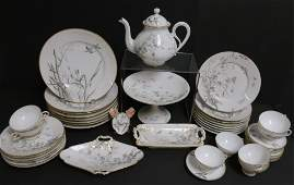 Limoges Porcelain Partial Dinner Service