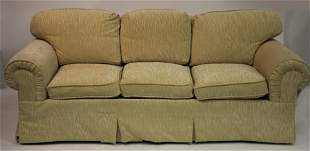 Rolled Arm Upholstered Sofa