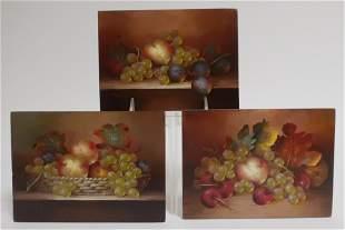 SZABO 2 Still Life wFruit1 Fruit BasketOB