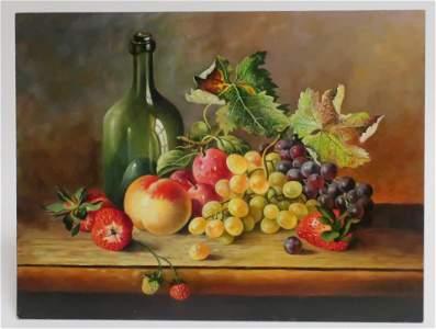 Gyorgy Voros, Grapes & Strawberries, O/B