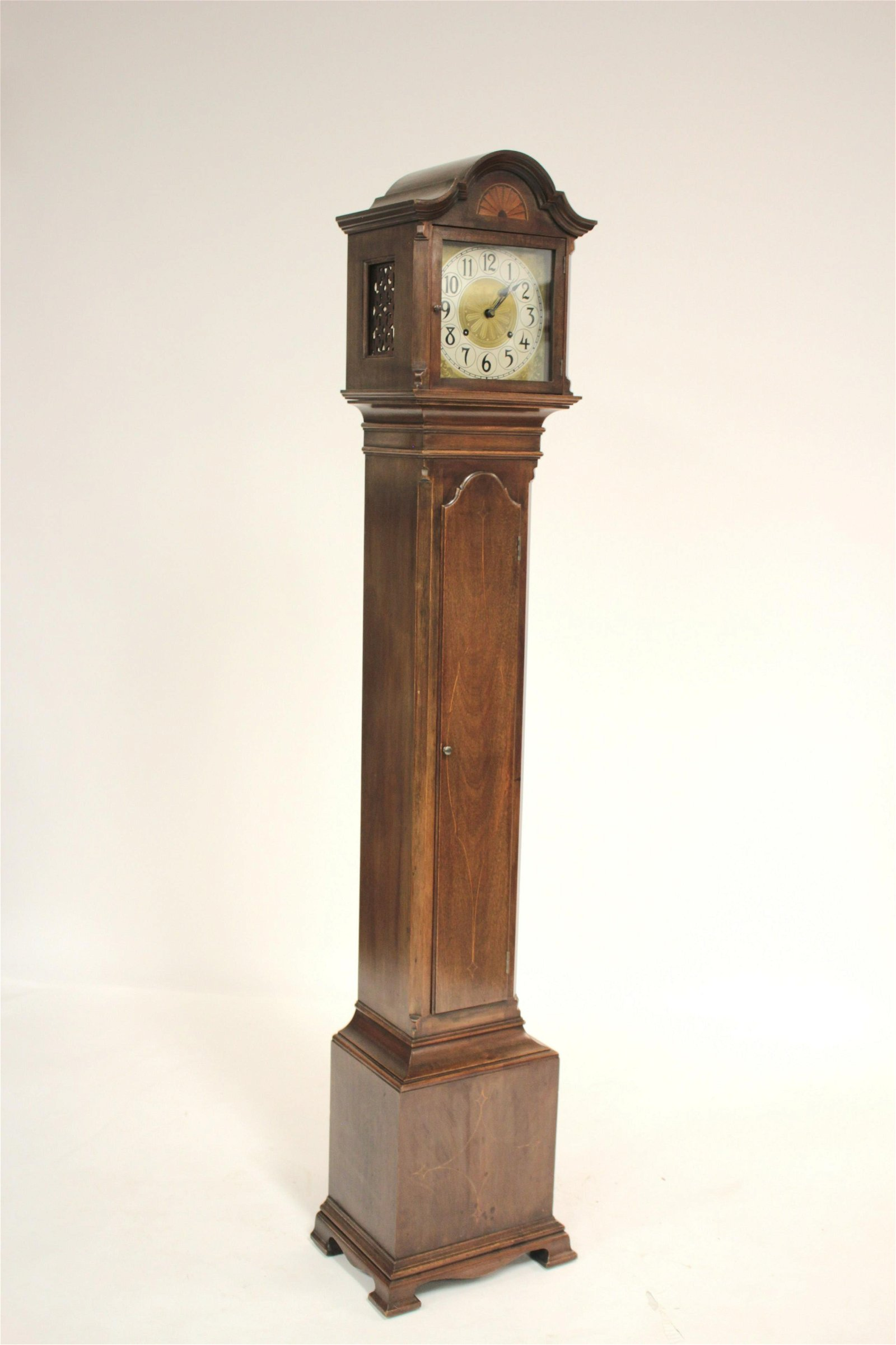 Federal Style Mahogany Tall Case Clock