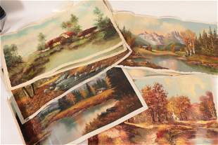 21 Signed Landscape Paintings