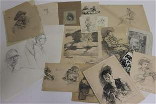 Lawrence Wilbur, 17 sketches