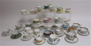 Teacup & Saucer Fine China Collection