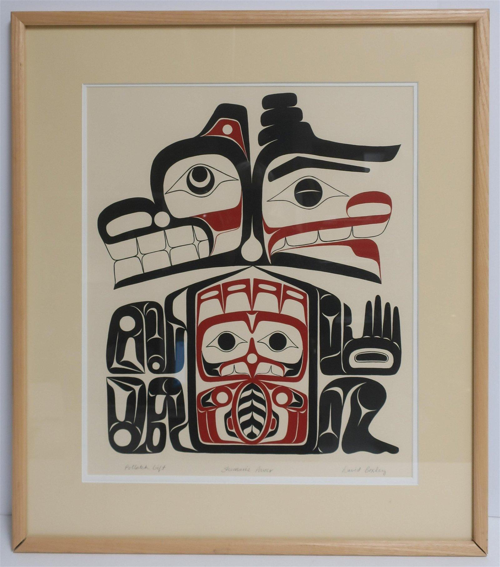 "David Boxley, ""Shaman's Power"" Print"