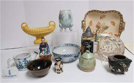 Mixed Lot Porcelain, Pottery & Glass