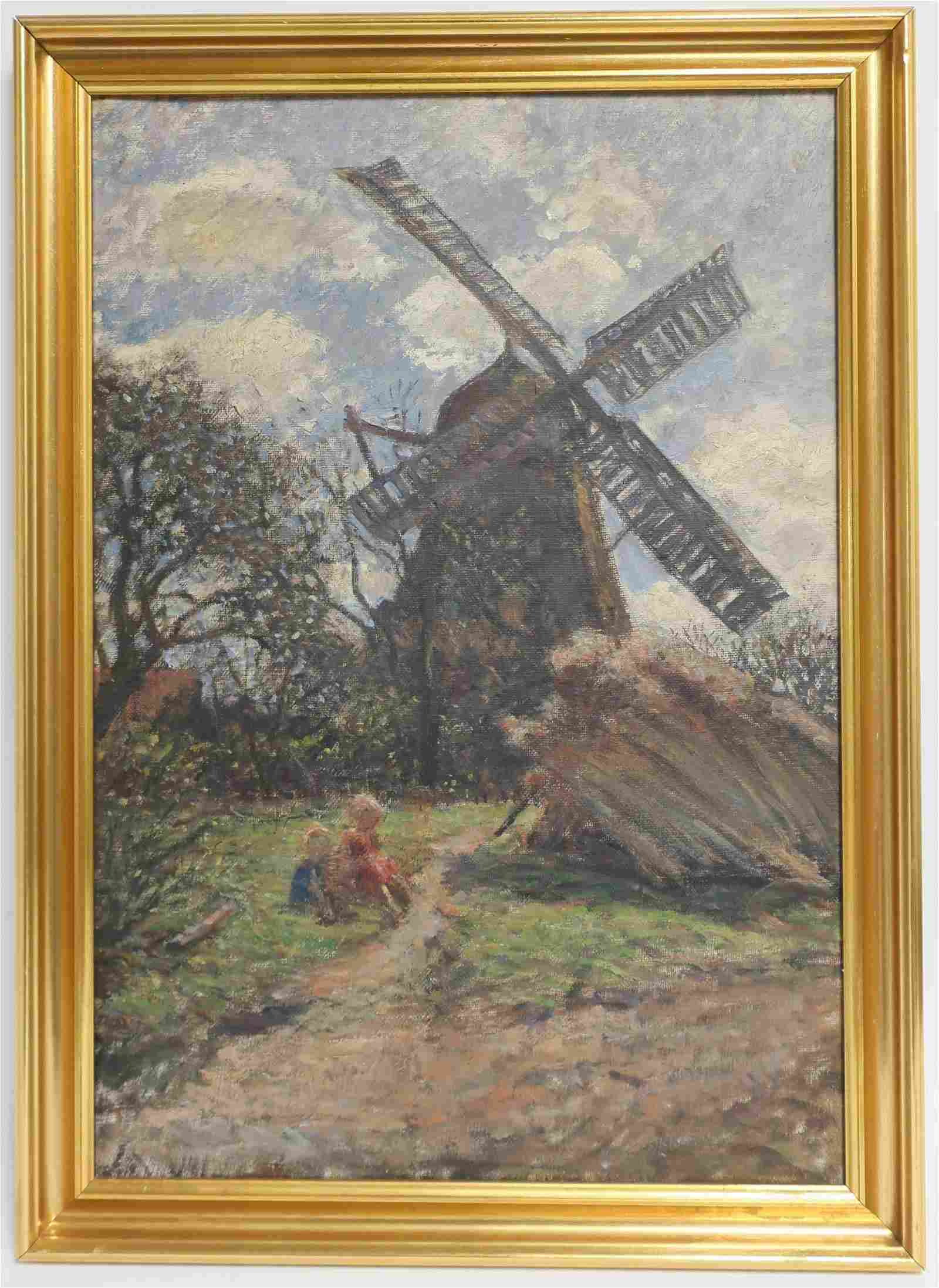 "Continental, ""Windmill with Children"""