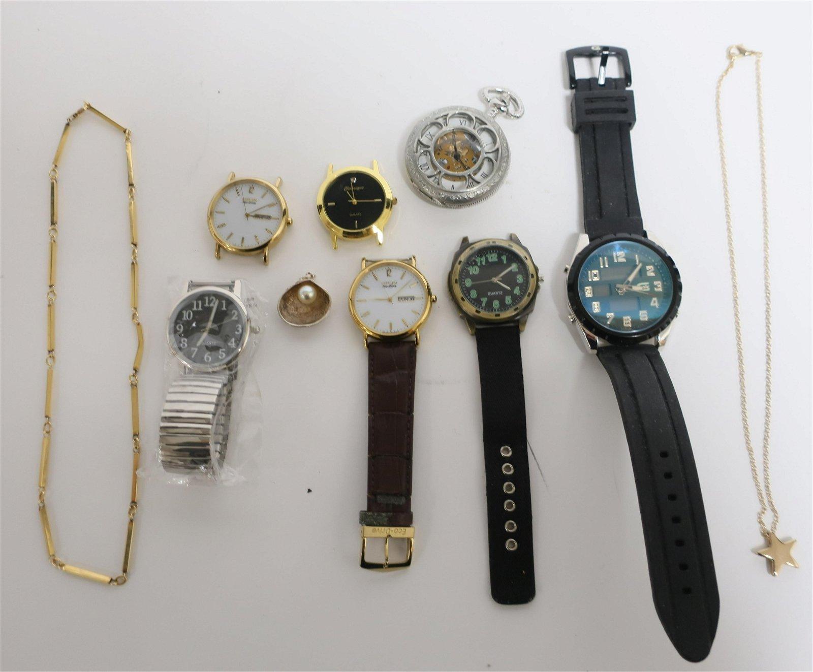 7 Quartz Watches