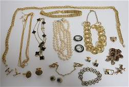 Group of Contemporary Costume Jewelry
