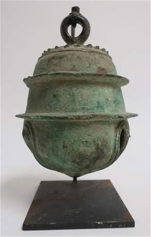 Khmer Bronze Bell