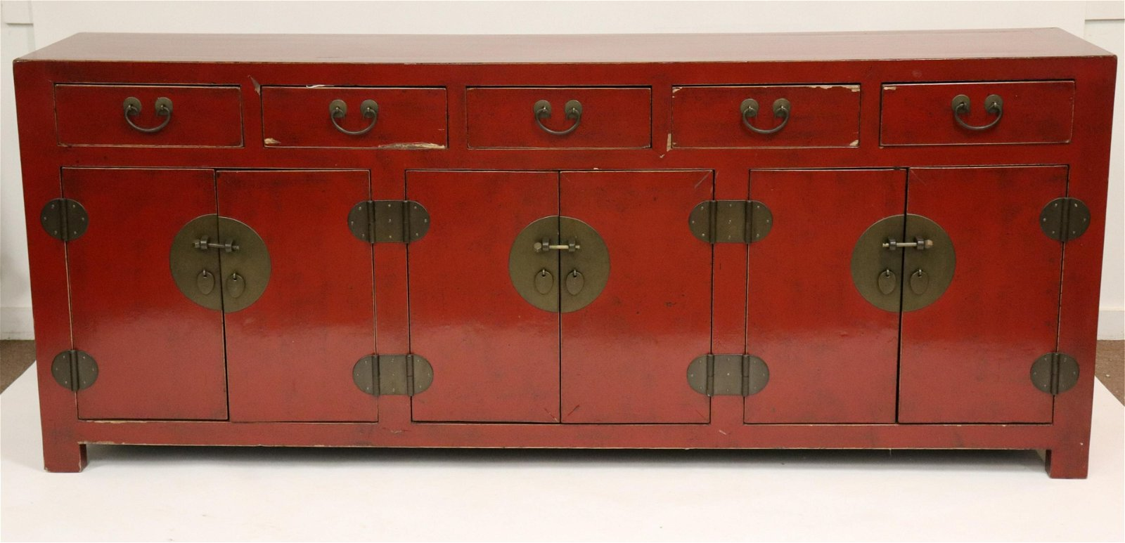 Chinese Red Lacquered Buffet, Shanxi region